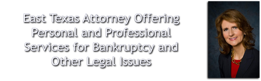 Lucy Hebron - East Texas Attorney Offering Personal and Professional Services for Bankruptcy and Other Legal Issues